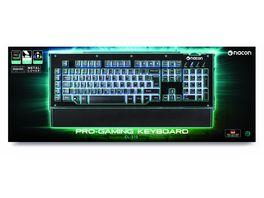 PC Gaming Keyboard CL 510DE kompatibel Windows XP Vista 7 8 10 Beleuchtung mehrfarbig Macrotasten Multimediatasten
