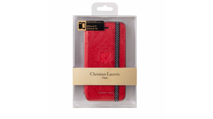 iPhone 6 6S Christian Lacroix Rot Tasche