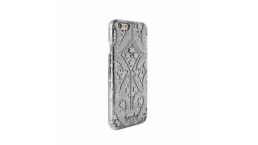 iPhone 6 6S Christian Lacroix Silber Transparent Cover