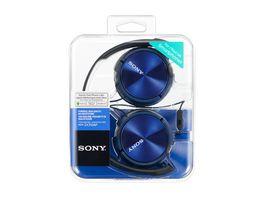 Sony On Ohr Kopfhoerer Blau MDRZX 310APL