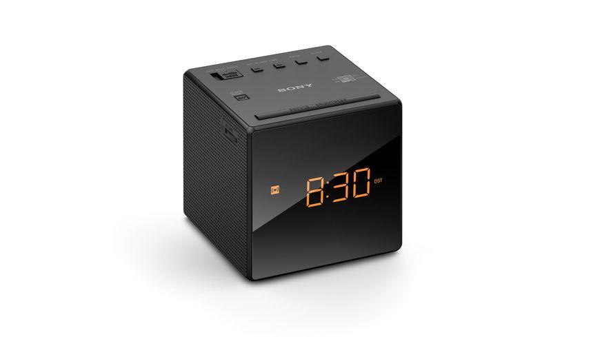 Sony Einstiegs Uhrenradio ICF C1B Schwarz