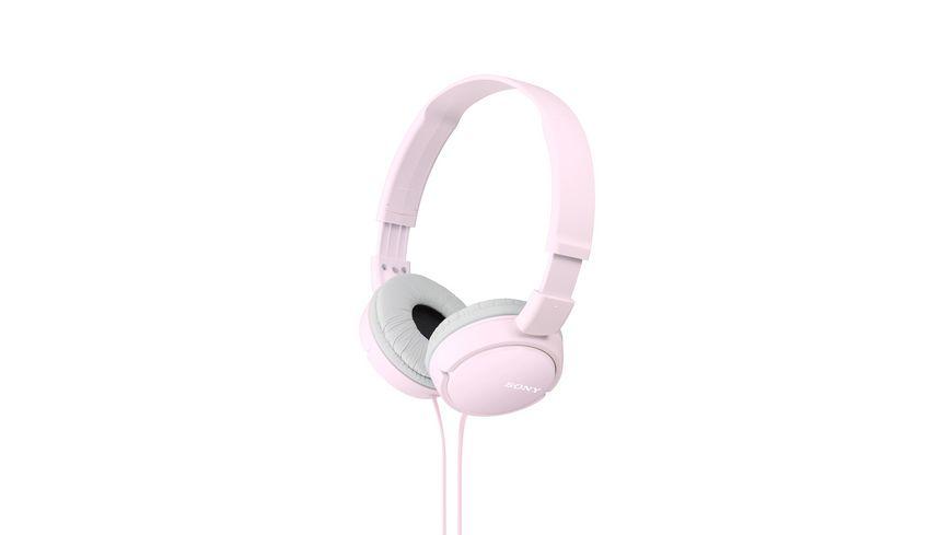 Sony On Ohr Kopfhoerer Pink MDR ZX 110