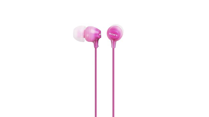 Sony In Ohr Kopfhoerer Pink MDREX 15
