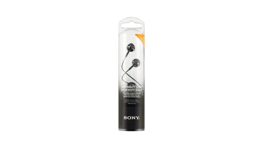 Sony In Ohr Kopfhoerer Schwarz MDREX 110