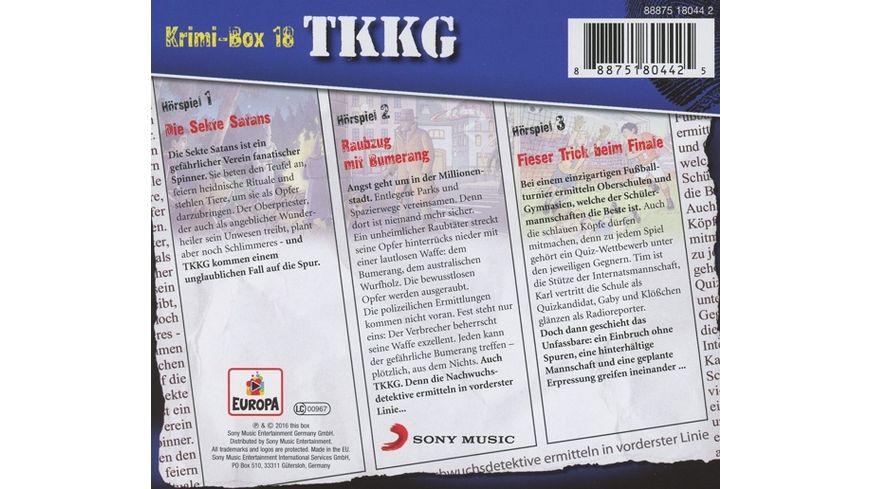 TKKG Krimi Box 18
