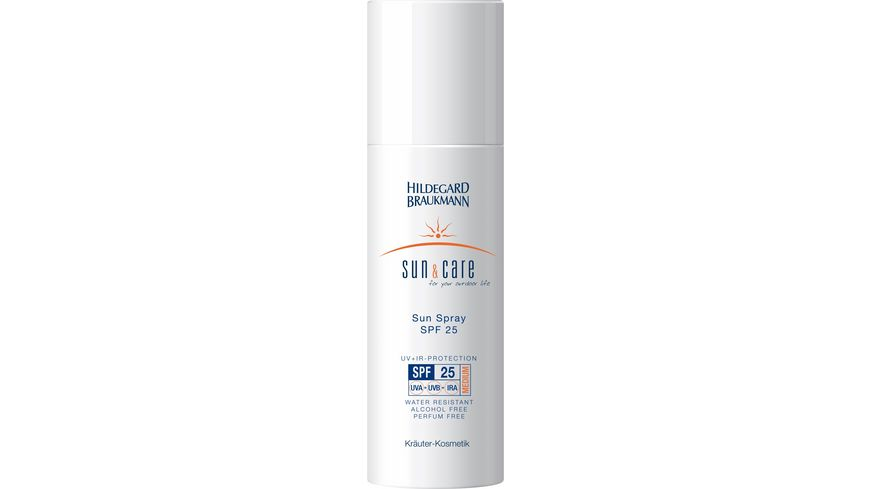 HILDEGARD BRAUKMANN sun care Sun Spray SPF 25