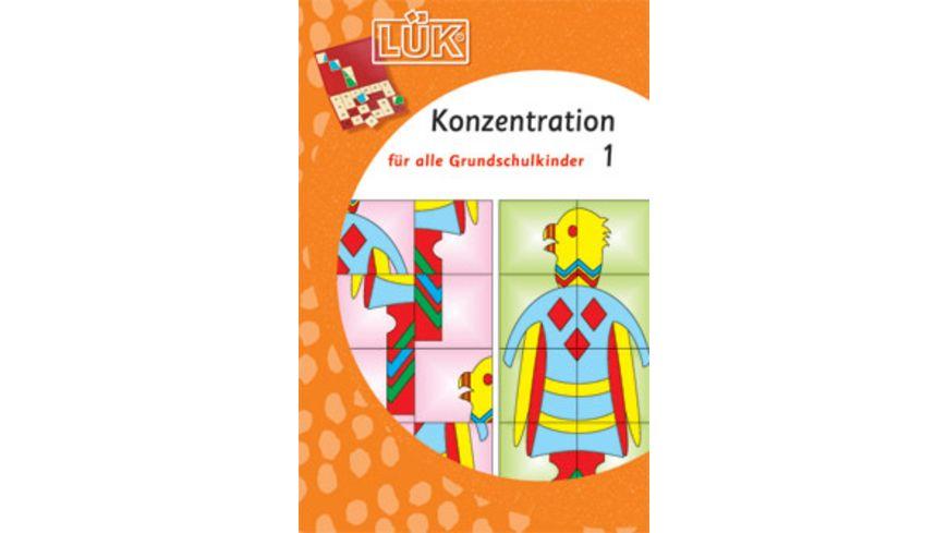 LUeK Konzentration Grundschulkinder 1
