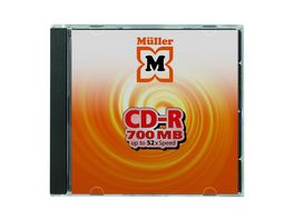 Mueller CD R 700MB Jewelcase
