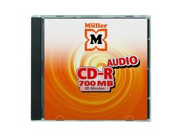 Mueller CD R Audio 80Min Jewelcase