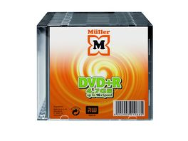 Mueller DVD R 4 7GB 10er Slimcase