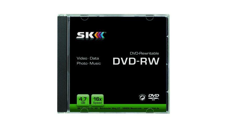 SK DVD RW 4 7GB Jewelcase