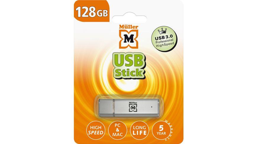 Mueller USB Stick 128GB USB 3 0