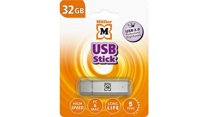 Mueller USB Stick 32GB USB 3 0
