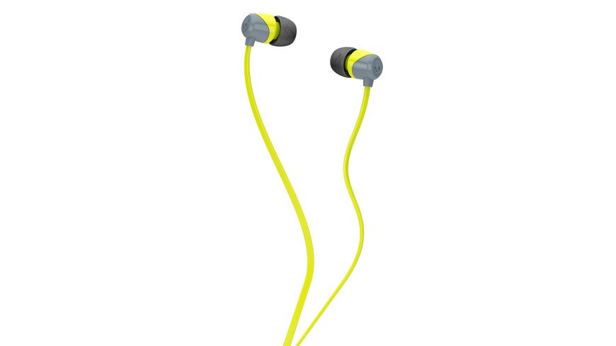 Skullcandy JIB GRAY HOT LIME HOT LIME IN EAR Kopfhoerer