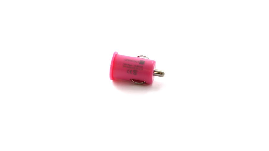 Connect IT KFZ Ladegeraet Colour Line USB Adapter 2 1A Pink