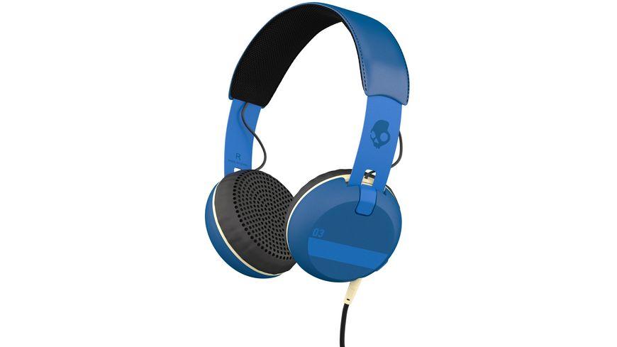 Skullcandy GRIND ON EAR W TAP TECH ILL FAMED ROYAL BLUE Headset