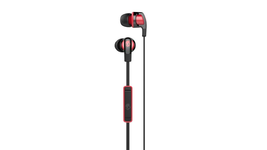 Skullcandy SMOKIN BUD 2 IN EAR BLACK RED RED Headset