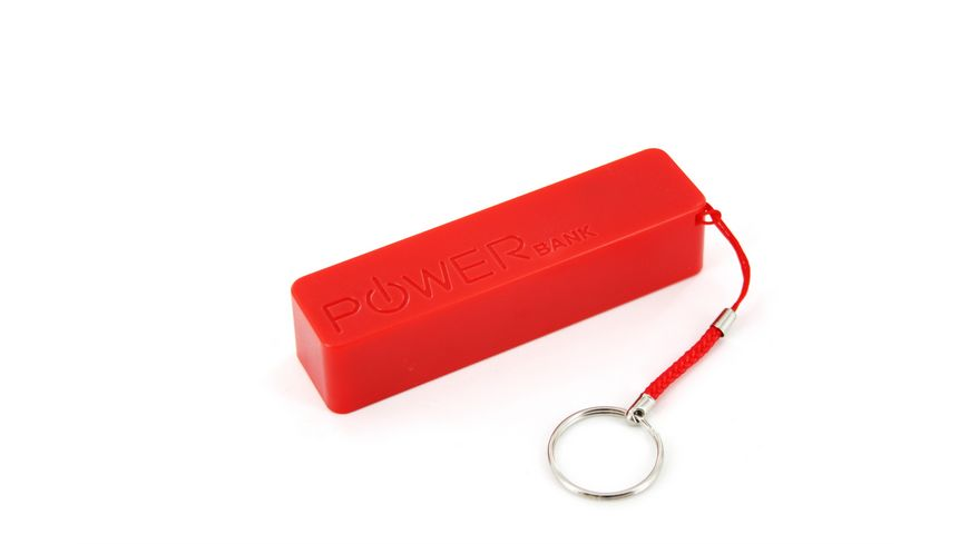 Xlayer Zusatzakku Powerbank Colour Line Red 2600mAh Smartphones Tablets