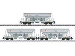 Maerklin 45805 Schuettgutwagen Set Faccns HVLE H0 VI