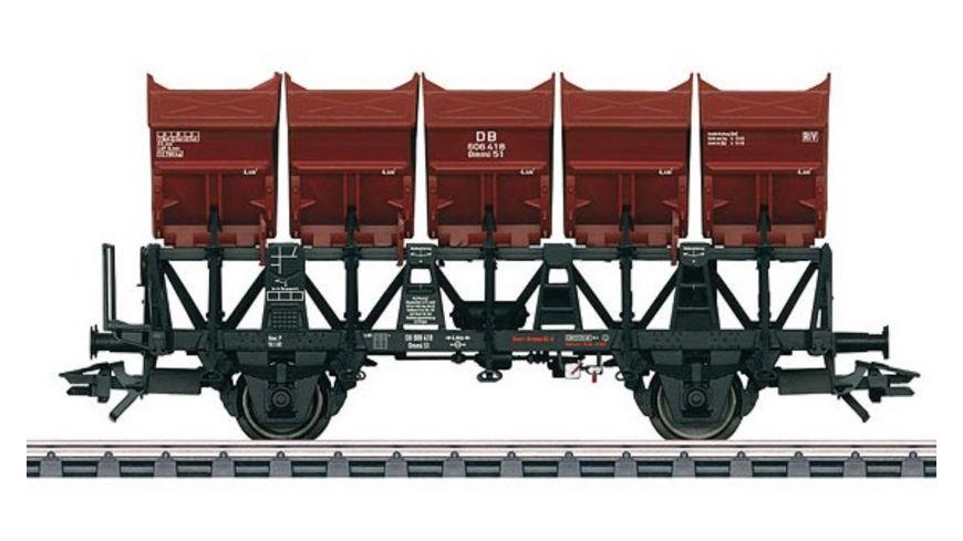 Maerklin 46355 Muldenkippwagen Ommi 51 H0 III DB