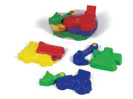 VERVE Sandspielzeug Bewegliche Sandformen 3er Set