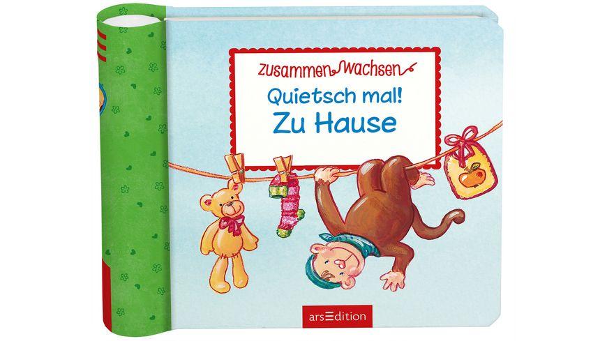 Buch Ars edition Quietsch mal Zu Hause