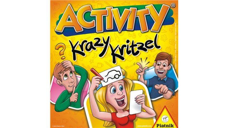 Piatnik Activity Krazy Kritzel