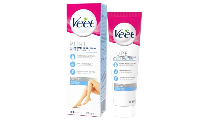 Veet Haarentfernungscreme für sensible Haut