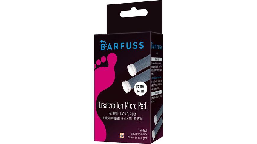 BARFUSS Ersatzrollen Grob Micro Pedi