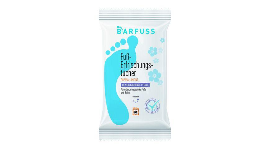 BARFUSS Fusserfrischungstuecher