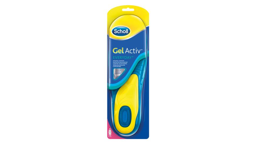 Scholl Einlegesohlen Gel Activ Everyday Woman