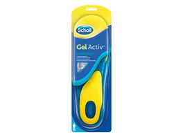 Scholl Einlegesohlen Gel Activ Everyday Men