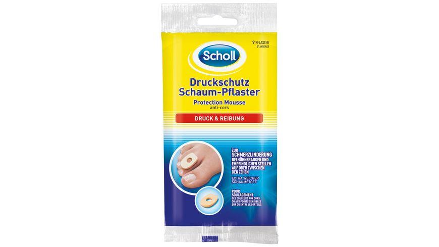 Scholl Druckschutz Schaumpflaster