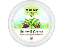 Mueller Pflanzenkosmetik Creme Beinwell