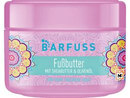 BARFUSS Fussoase Fussbutter mit Sheabutter