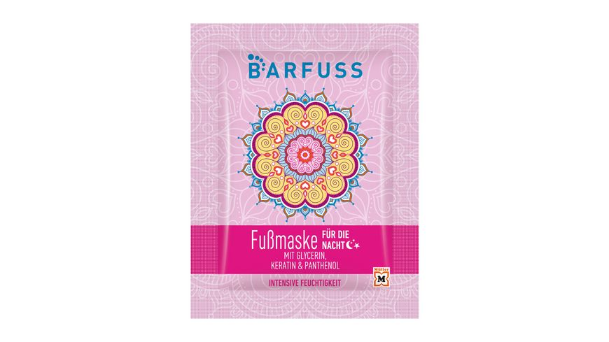 BARFUSS Fussmaske Nacht
