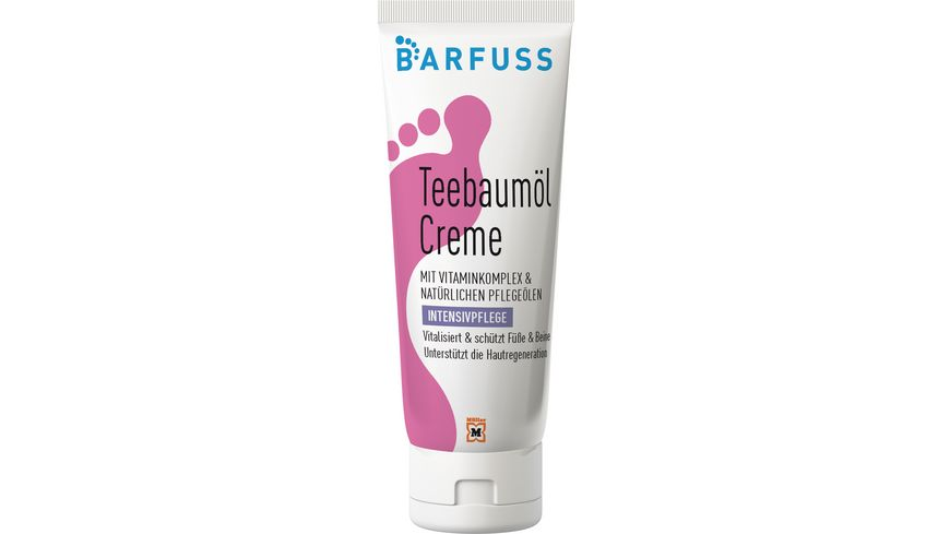 BARFUSS Teebaumoel Creme