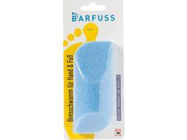 BARFUSS Bimsschwamm Hand Fuss