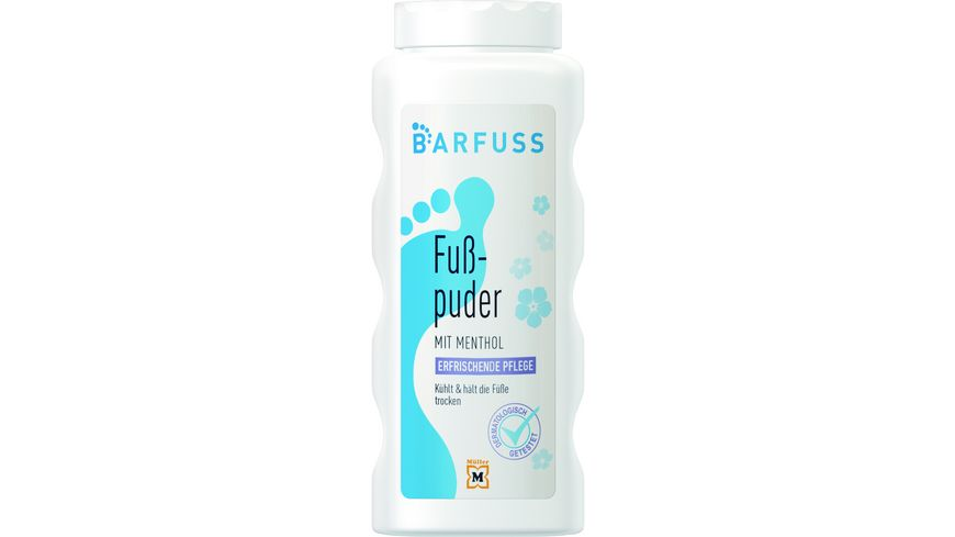 BARFUSS Fusspuder