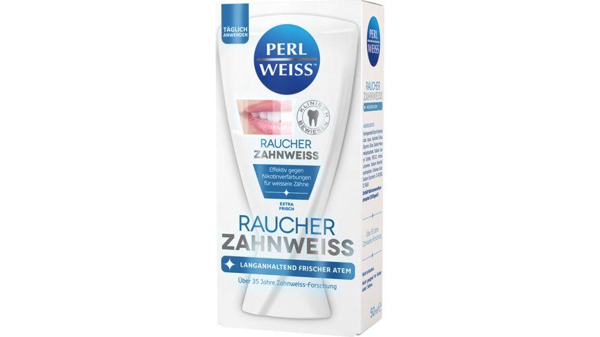 PERLWEISS Zahnweiss Raucher
