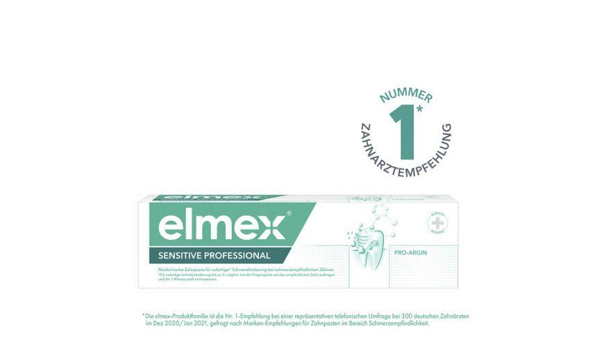 elmex® Zahncreme Sensitive Professional