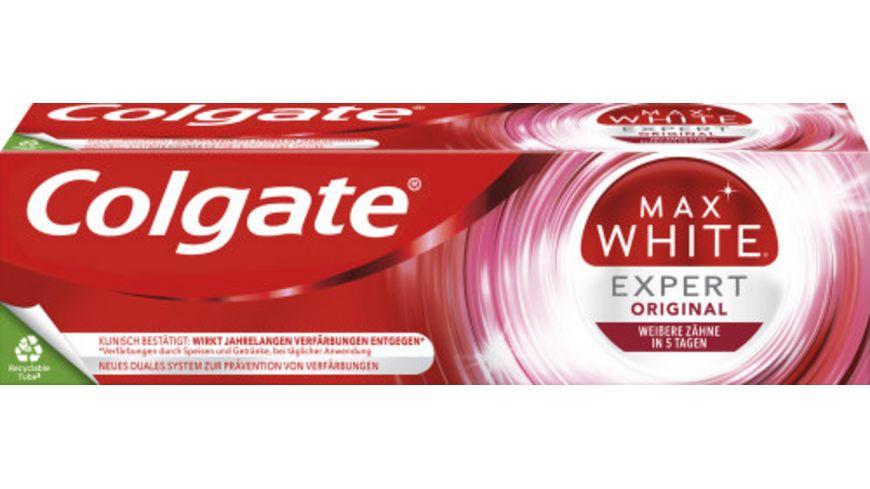 Colgate Zahncreme Max White Expert White
