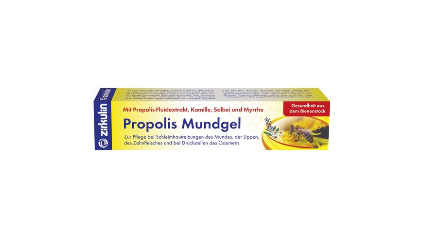 zirkulin Mundgel Propolis