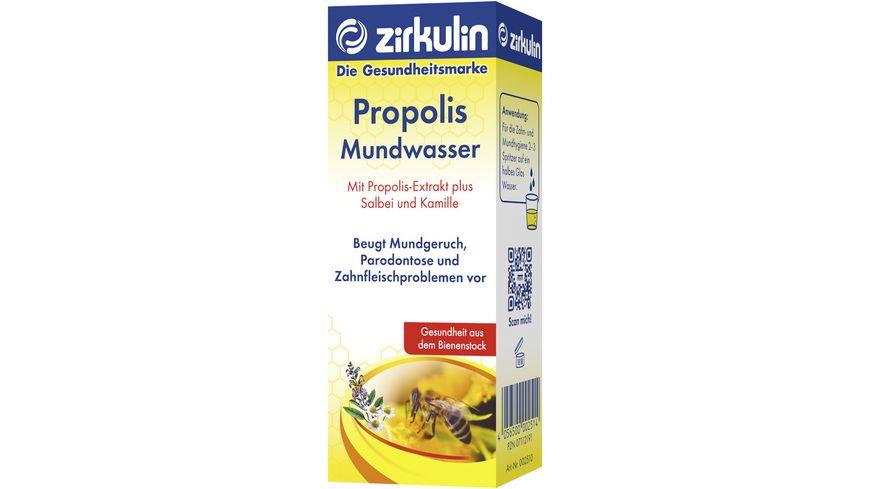 zirkulin Mundwasser Propolis