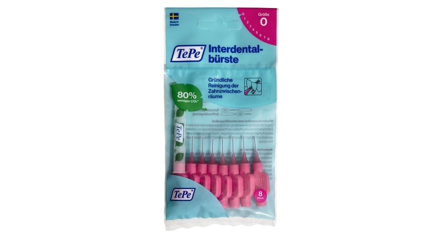 TePe Interdentalbuersten Original Pink 0 4 mm