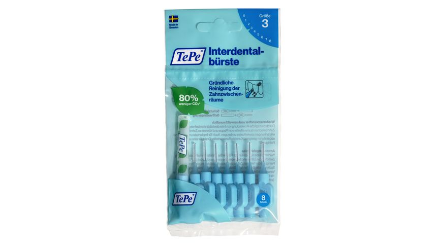 TePe Interdentalbuersten Original Blau 0 6 mm