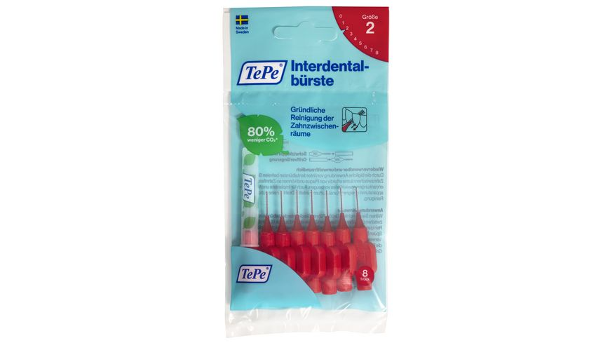 TePe Interdentalbuersten Original Rot 0 5 mm