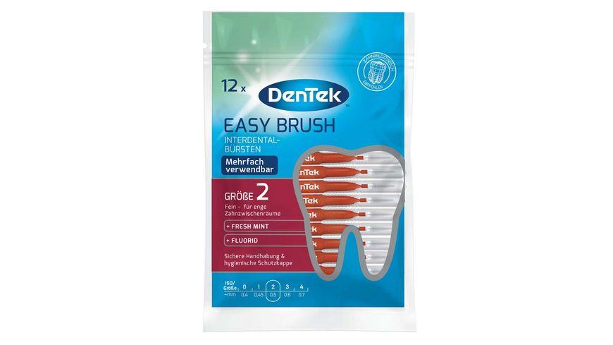 DenTek Easy Brush Interdental Buersten Fein 2 3 3 8mm ISO 2