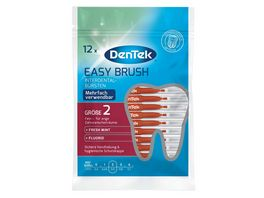 DenTek Easy Brush Interdental Buersten Fein 2 3 3 8mm ISO 2