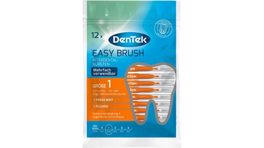 DenTek Easy Brush Interdental-Bürsten Extra Fein 2-3mm ISO 1 online ...